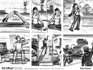 Bob Towner's Shootingboards storyboard art