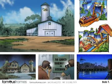 Bob Towner's Architectural storyboard art