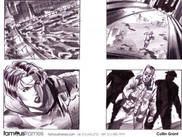Collin Grant*'s People - B&W Tone storyboard art