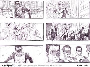 Collin Grant*'s Film/TV storyboard art