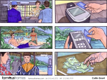 Collin Grant*'s People - Color  storyboard art