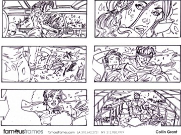 Collin Grant*'s Shootingboards storyboard art