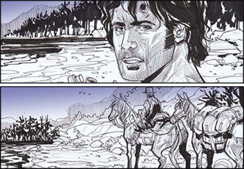 Collin Grant*'s Shootingboards storyboard art