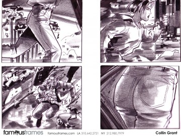Collin Grant*'s Action storyboard art
