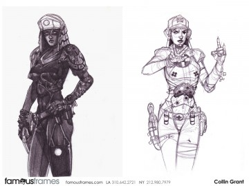 Collin Grant*'s Characters / Creatures storyboard art
