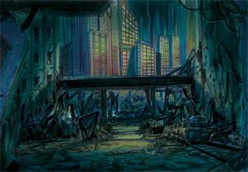 Collin Grant*'s Environments storyboard art