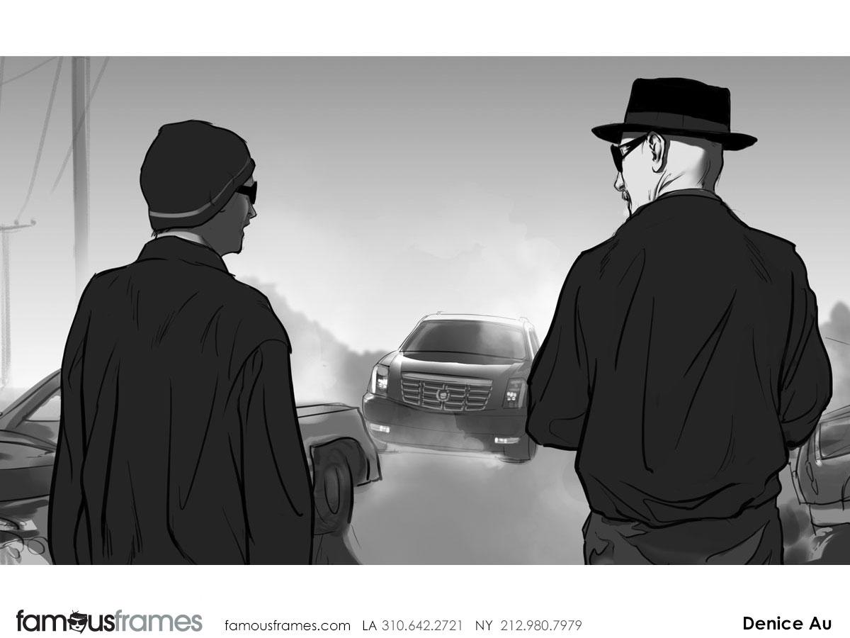Denice Au's People - B&W Tone storyboard art (Image #2595_113_1384904151)