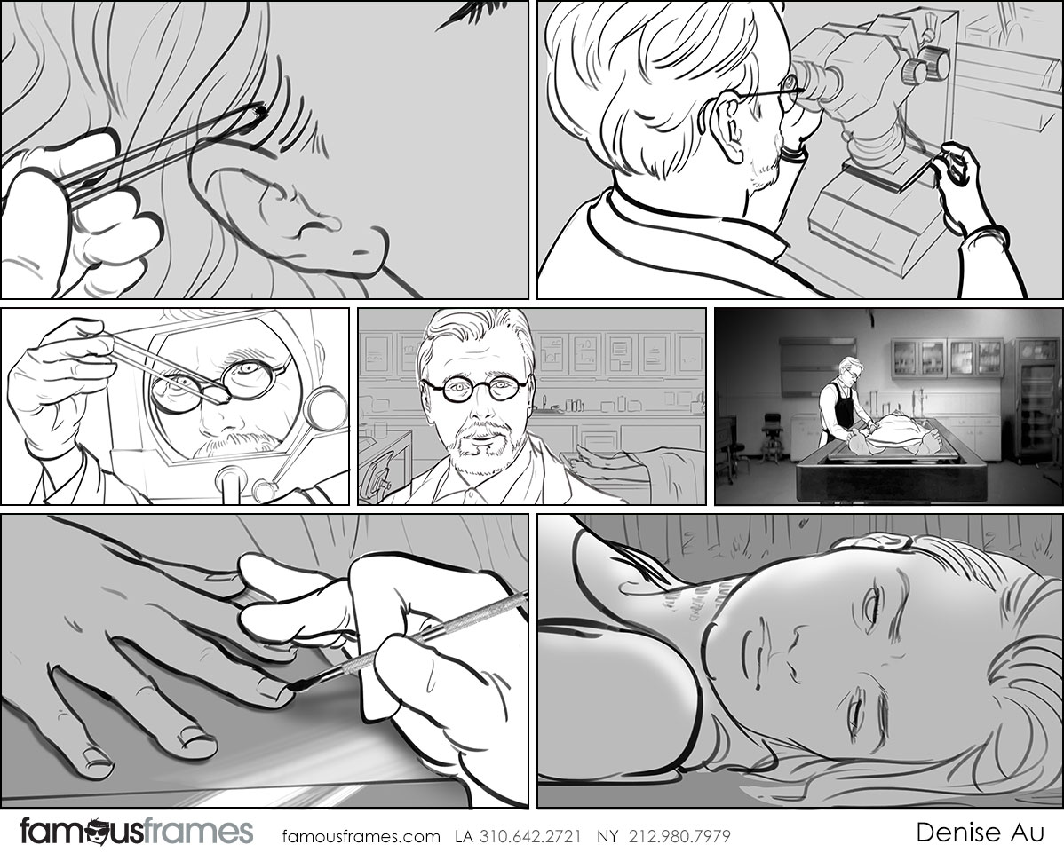 Denice Au's People - B&W Tone storyboard art (Image #2595_113_1564607636)