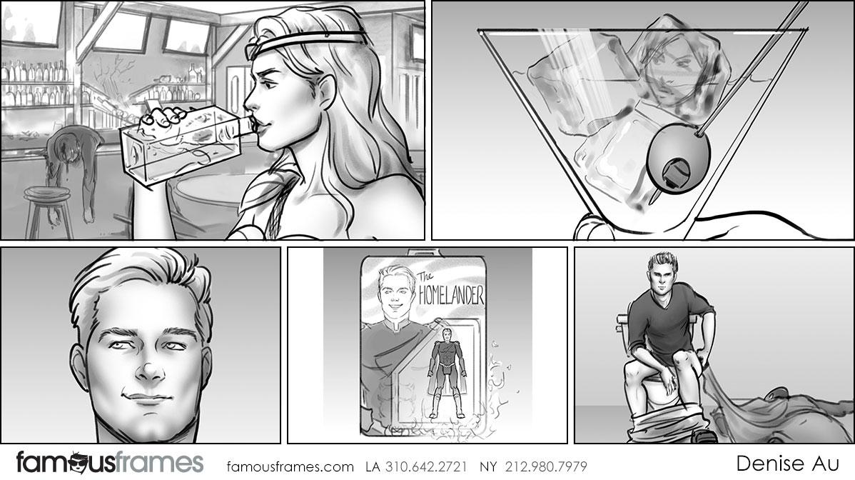 Denice Au's People - B&W Tone storyboard art (Image #2595_113_1564612817)