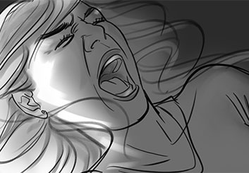 Denice Au's People - B&W Tone storyboard art