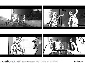 Denice Au's Shootingboards storyboard art
