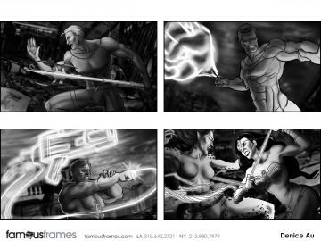 Denice Au's Video Games storyboard art