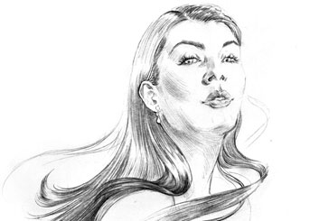 Denice Au's Beauty / Fashion storyboard art