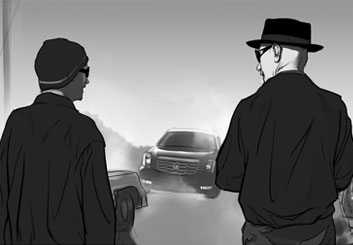 Denice Au's Film/TV storyboard art