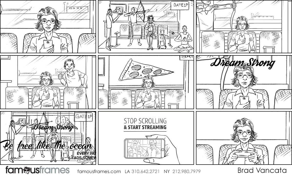 Brad Vancata's People - B&W Line storyboard art (Image #26_22_1562628104)