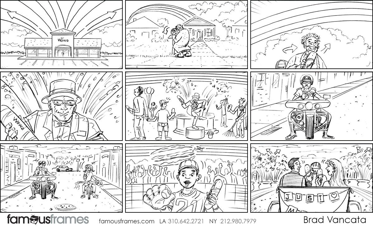 Brad Vancata's People - B&W Line storyboard art (Image #26_22_1562698631)