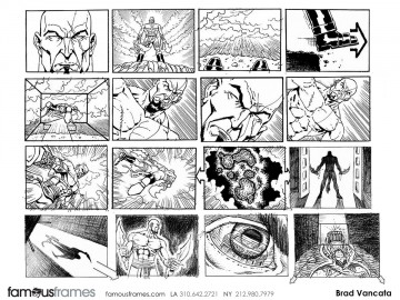 Brad Vancata's Video Games storyboard art