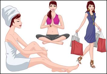 Brad Vancata's Beauty / Fashion storyboard art