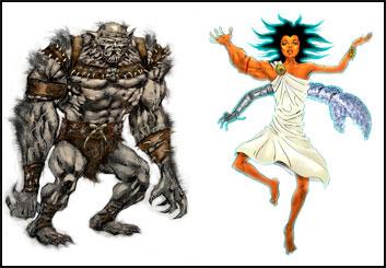 Brad Vancata's Characters / Creatures storyboard art