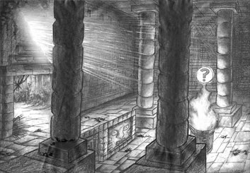 Brad Vancata's Environments storyboard art