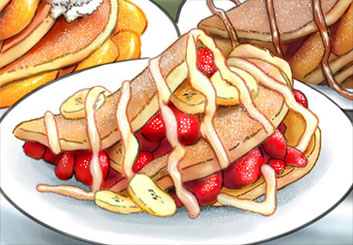 Brad Vancata's Food storyboard art