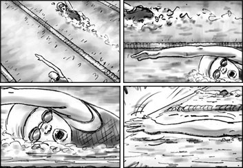 Brad Vancata's Film/TV storyboard art