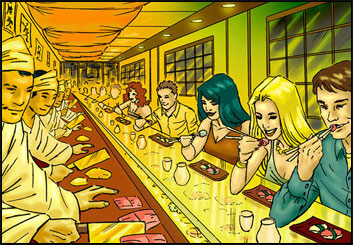 Brad Vancata's People - Color  storyboard art
