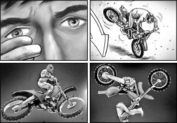 Brad Vancata's Shootingboards storyboard art
