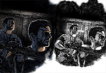 Brad Vancata's Illustration storyboard art