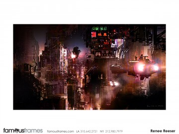 Roger Hom's Concept Environments storyboard art