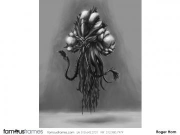Roger Hom's Conceptual Elements storyboard art