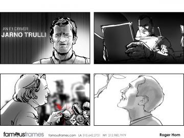 Roger Hom's People - B&W Tone storyboard art