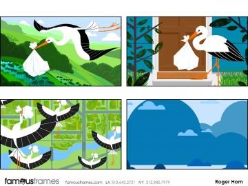 Roger Hom's Graphics storyboard art