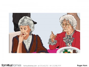Roger Hom's Likenesses storyboard art