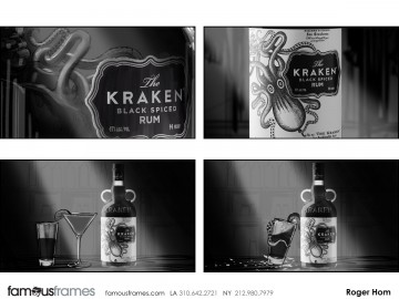 Roger Hom's Products storyboard art