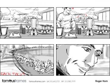 Roger Hom's Shootingboards storyboard art