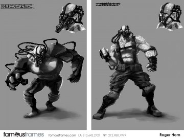 Roger Hom's Characters / Creatures storyboard art