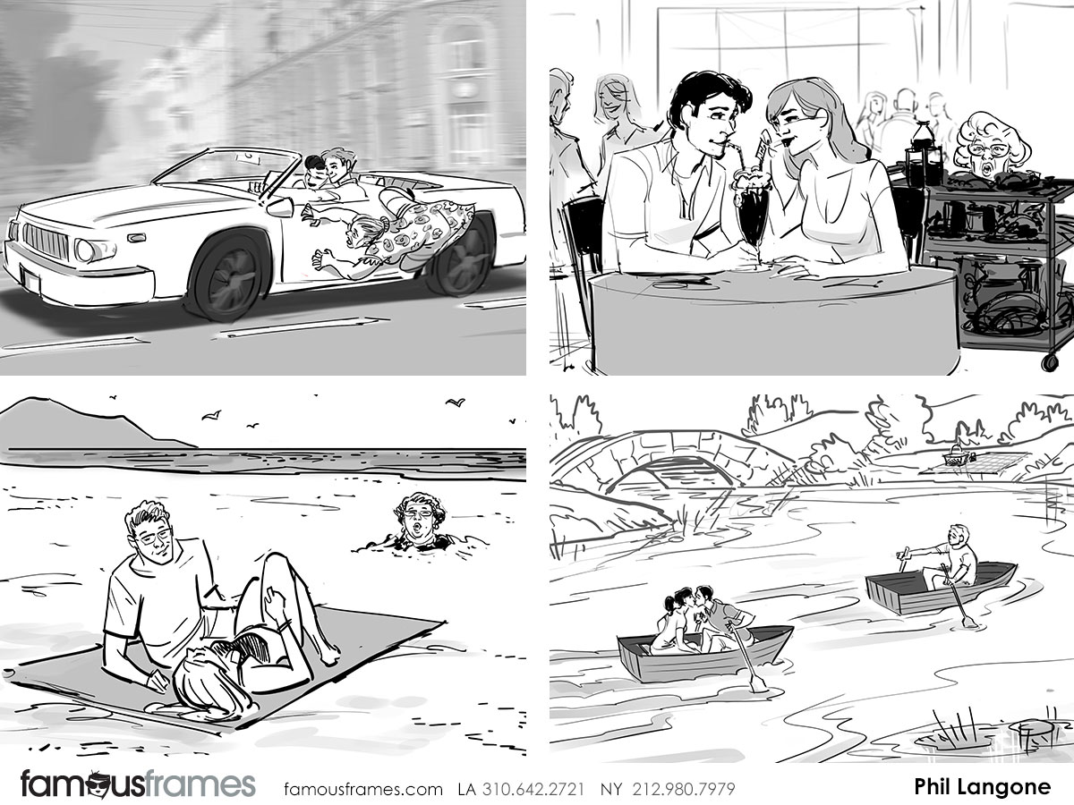 Old Spice - Phil Langone\'s storyboard art | Famous Work