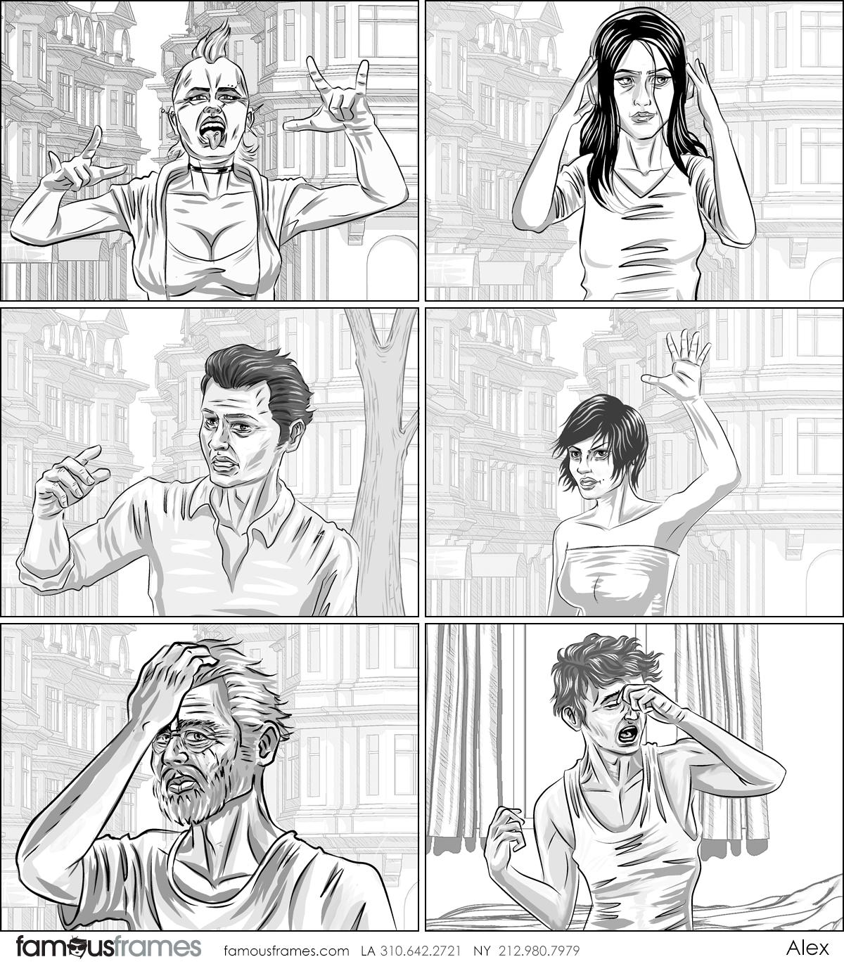 Alex's People - B&W Tone storyboard art (Image #31467_113_1592783883)