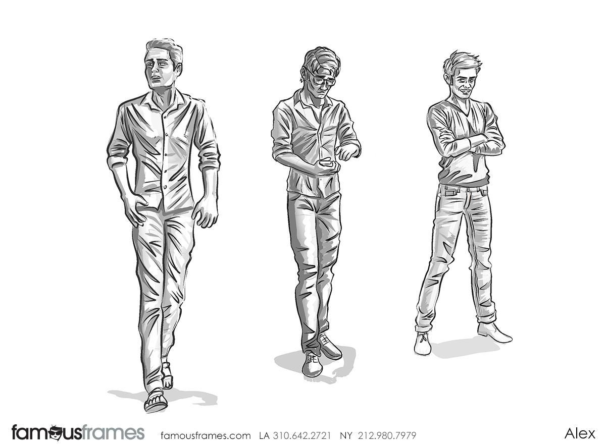 Alex's People - B&W Tone storyboard art (Image #31467_113_1592784102)