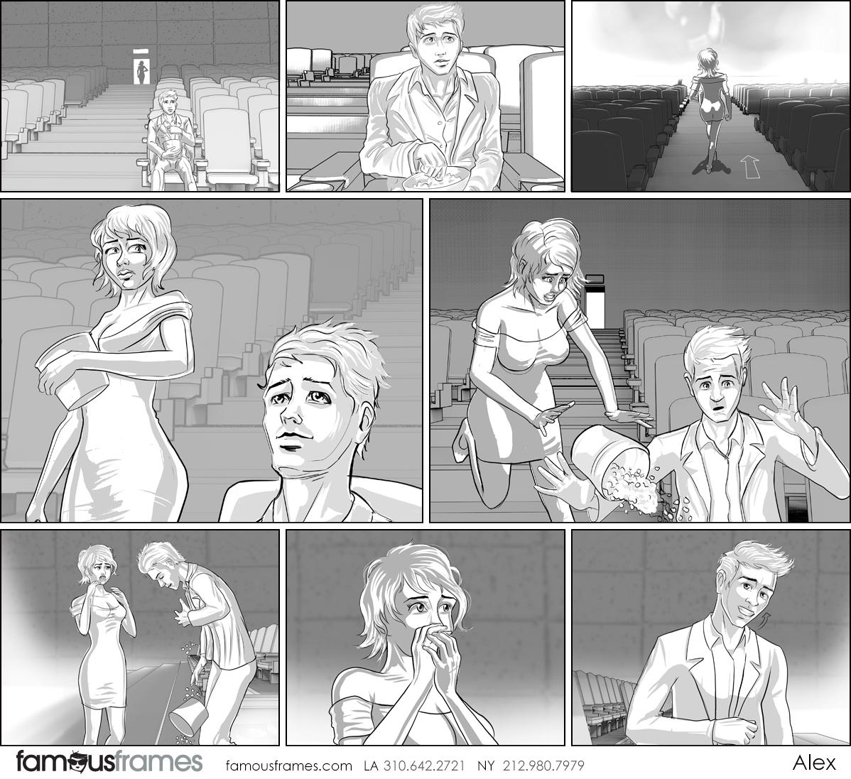 Alex's People - B&W Tone storyboard art (Image #31467_113_1592784179)