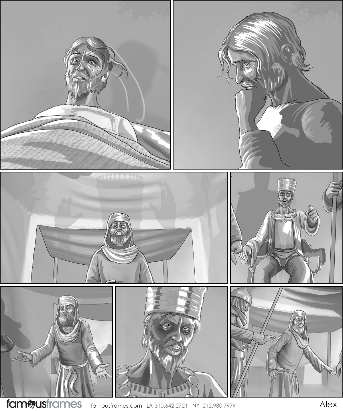 Alex's People - B&W Tone storyboard art (Image #31467_8_1592784233)