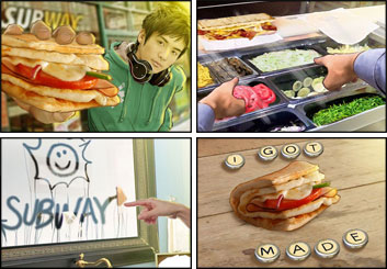 David Case's Food storyboard art