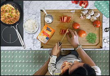 David Case's Food storyboard art