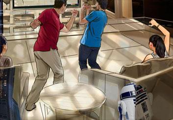 David Case's Sci-Fi storyboard art