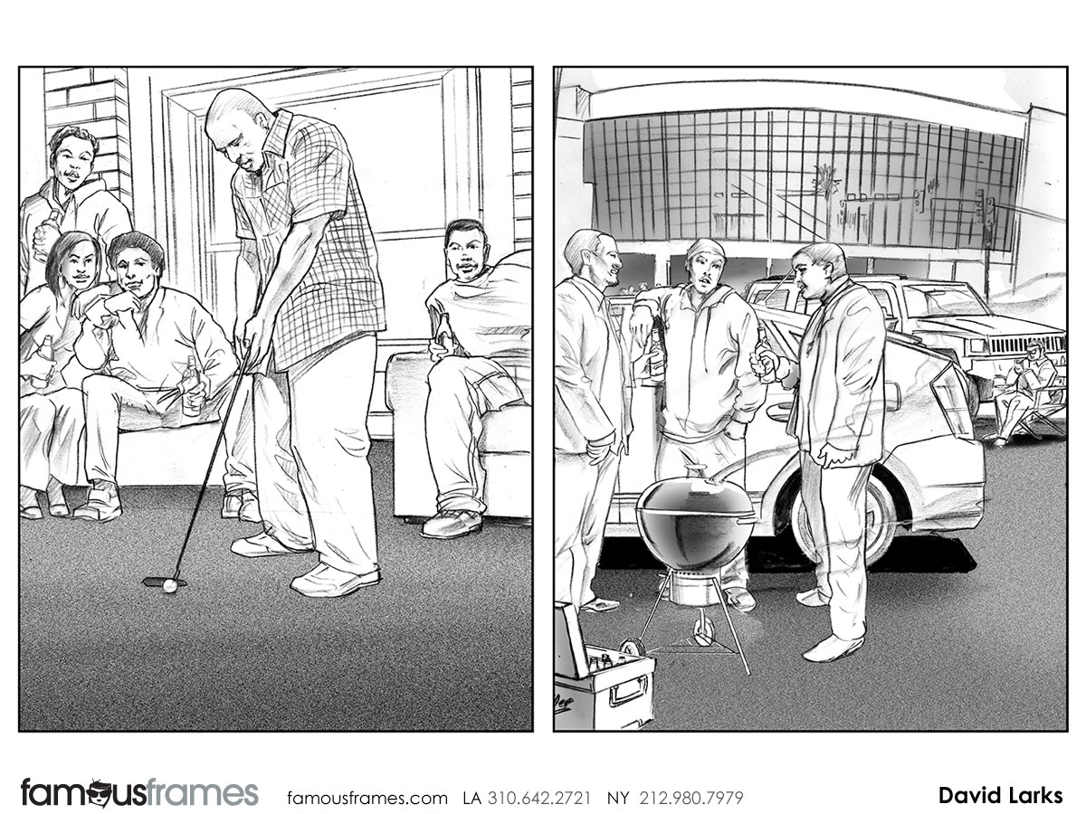 David Larks*'s People - B&W Line storyboard art (Image #317_113_1384910361)