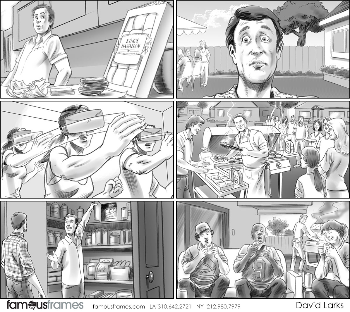 David Larks*'s People - B&W Tone storyboard art (Image #317_113_1493240793)