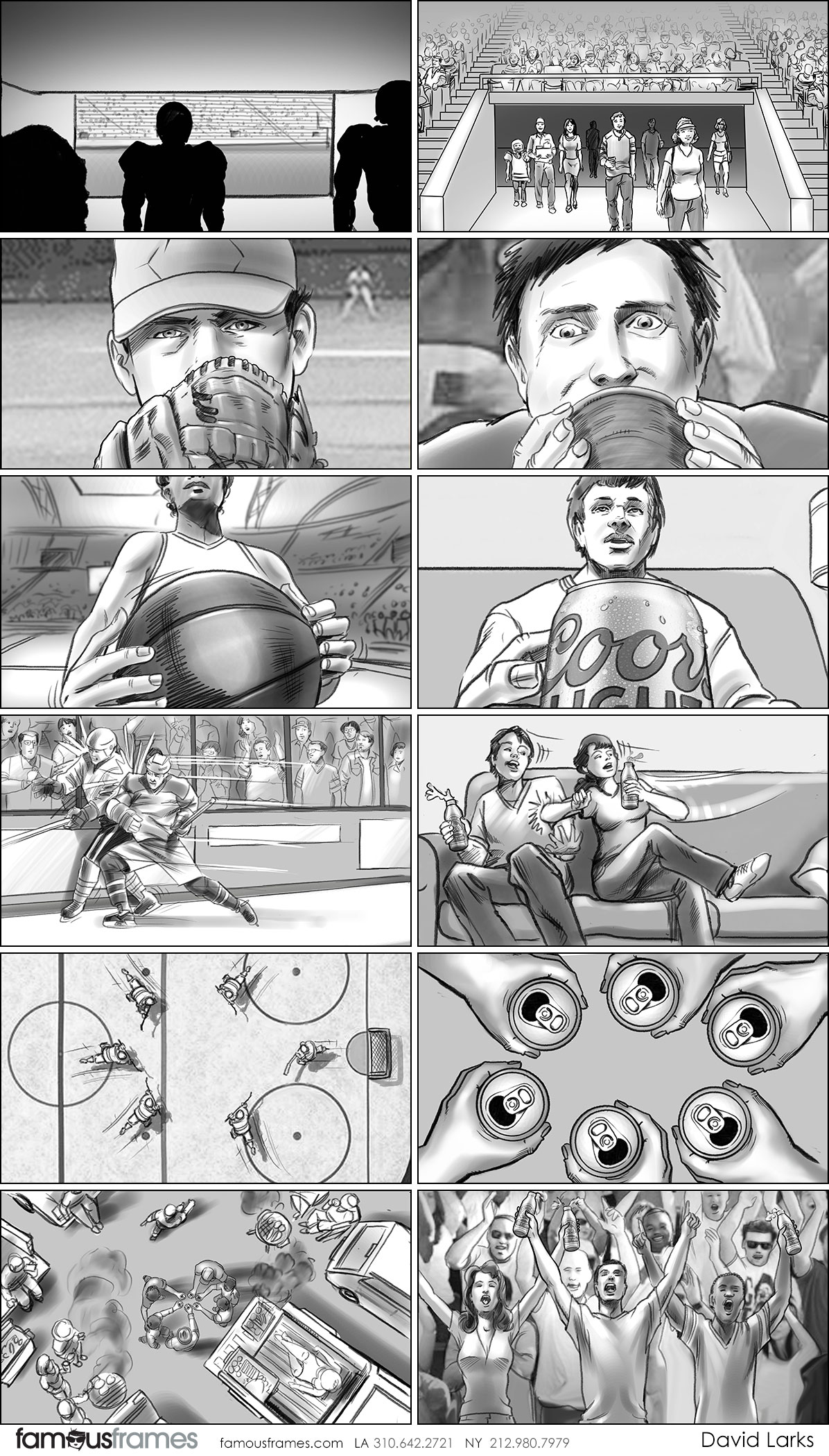 David Larks*'s People - B&W Tone storyboard art (Image #317_113_1493670614)