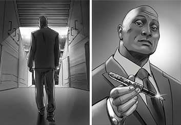 David Larks's Key Art / Posters storyboard art