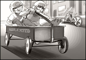David Larks*'s Vehicles storyboard art